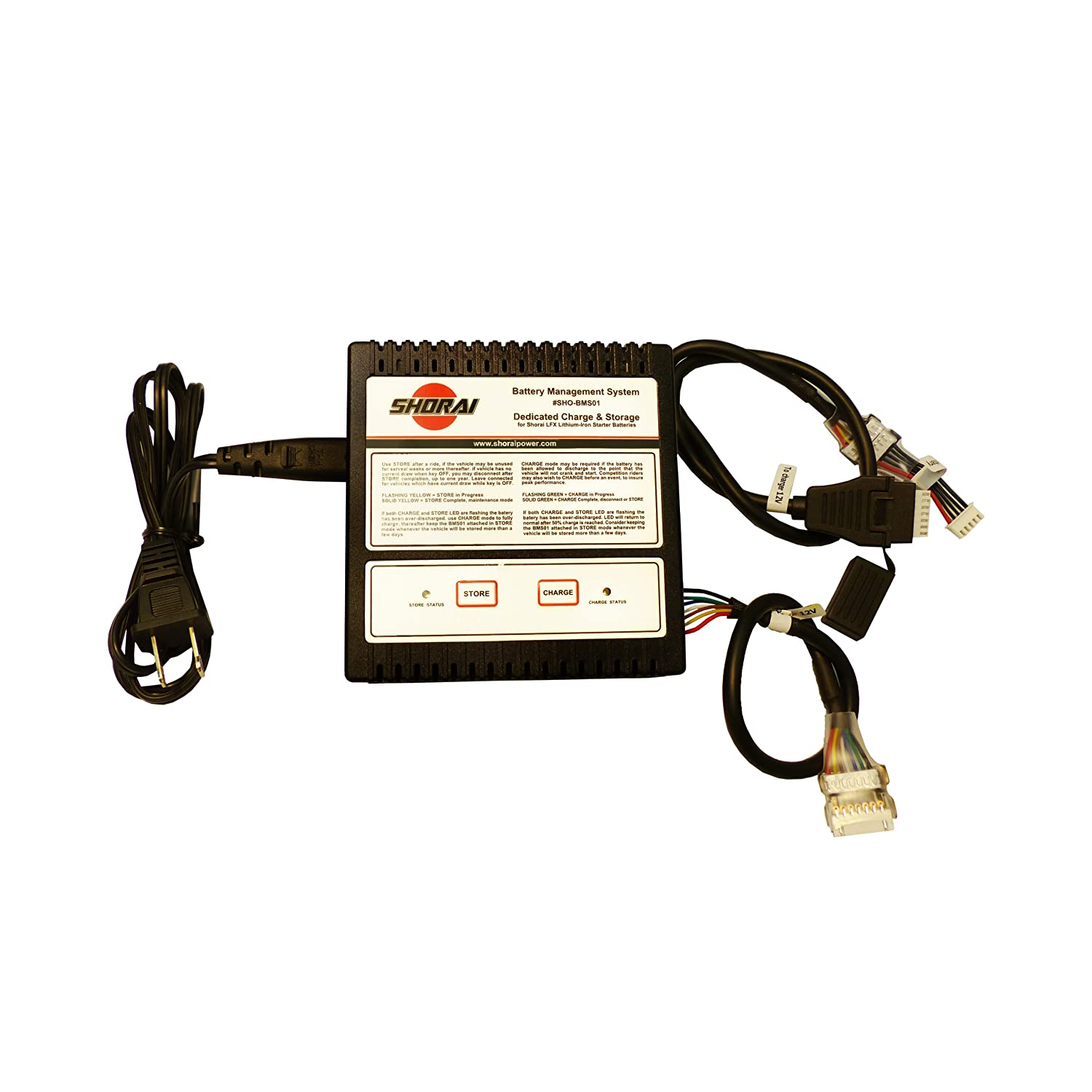 Shorai SHO-BMS01 Lithium Battery Charger 423820