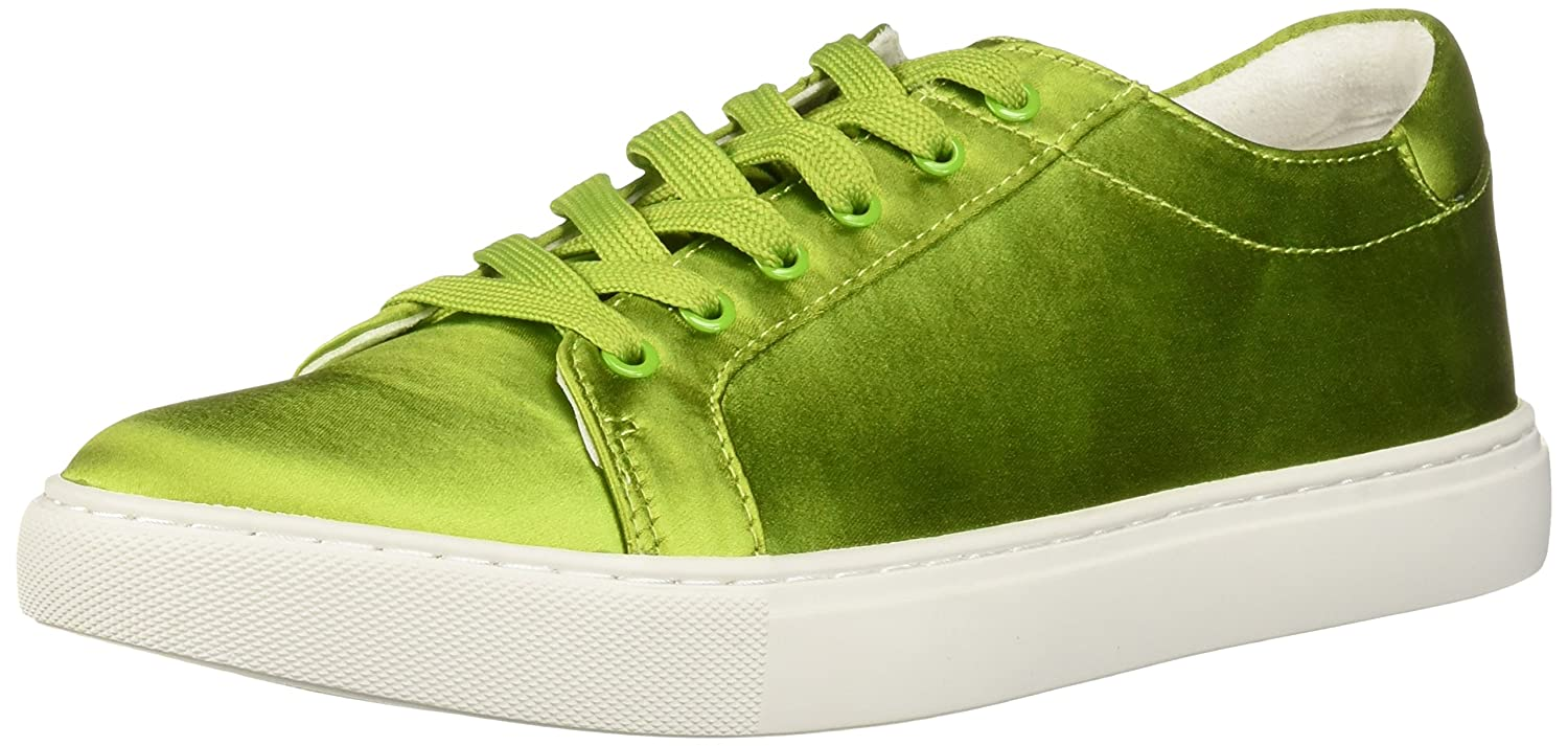 Kenneth Cole New York Women's Kam Techni-Cole Satin Lace-up Sneaker B07BT3Z3KY 7.5 B(M) US|Green