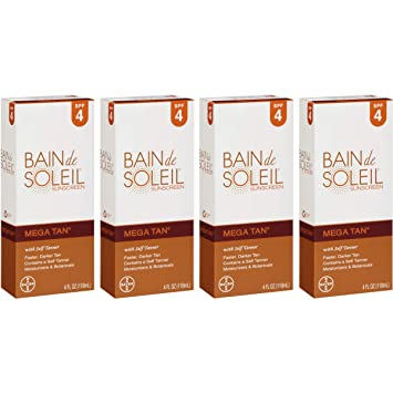 Bain de soleil mega tan self tanner reviews