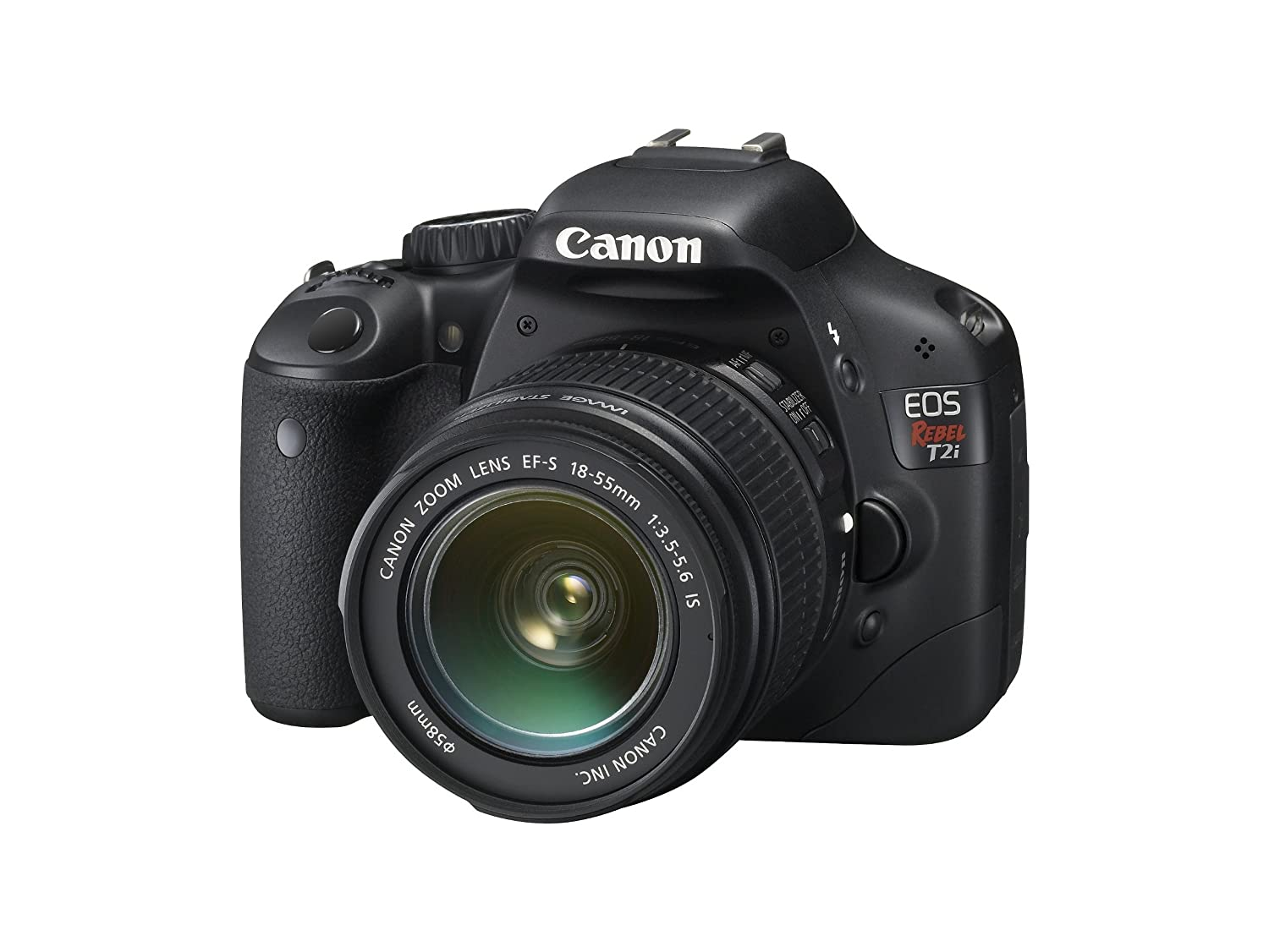 Canon Eos Rebel T2i Dslr Camera With Ef S 18 55mm F 35 Typical Wiring 4 Pole 3 5 Mm Jack 56 Is Lens Old Model Tsi Photo