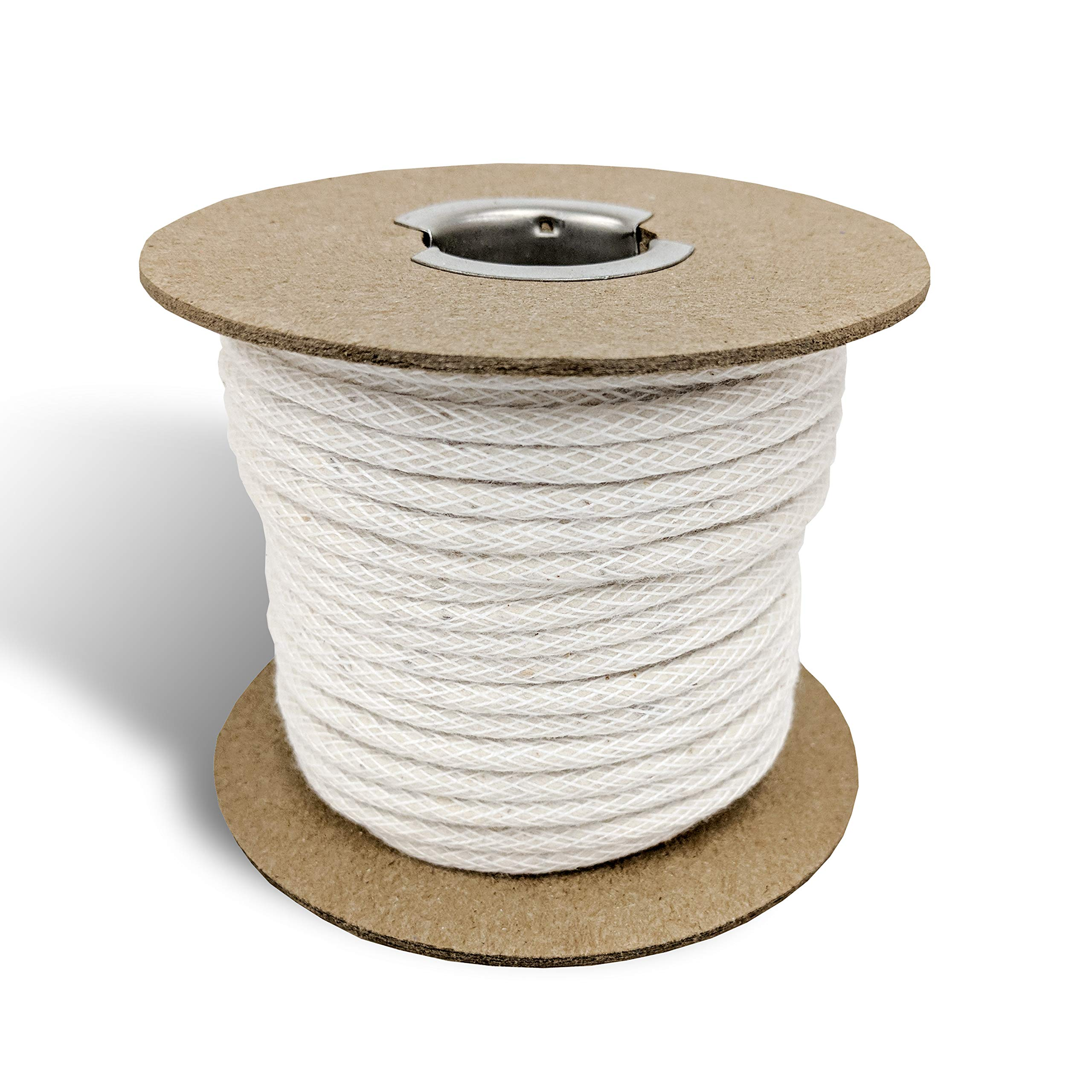 Upholstery Cotton Piping Welt Cord for Furniture/Crafts, 25yd Spool- Made in USA by Wholesale Upholstery Supply