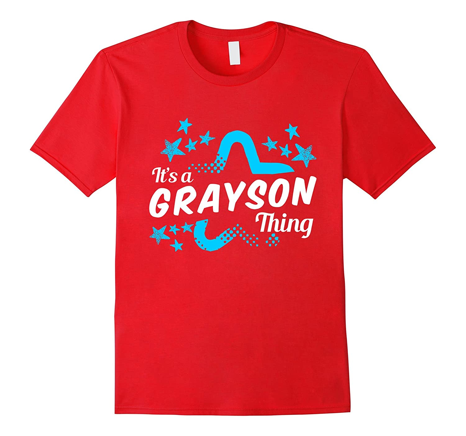 Funny It's A GRAYSON Thing T-Shirt For Men, Boys and Kids-FL