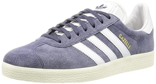 adidas Originals Gazelle, Zapatillas Unisex Adulto, Gris (Nemesis/Vintage White/Gold Met.), 36 2/3 EU: Amazon.es: Zapatos y complementos