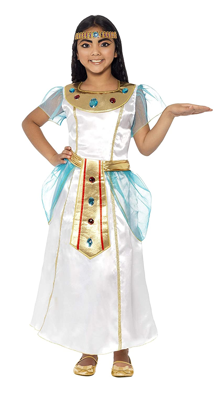 Smiffys - Disfraz Infantil Deluxe Cleopatra (44104L): Amazon.es ...