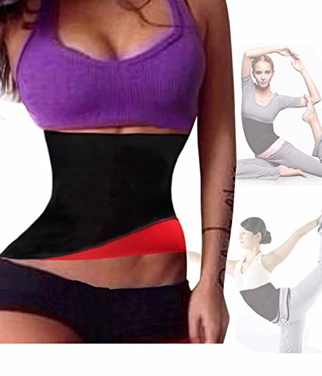 30535c2ef64e1 Hot Thermo Sweat Neoprene Shapers Slimming Belt Waist Cincher Girdle ...
