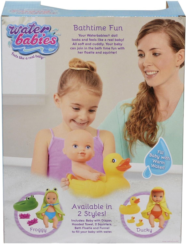 bathtime fun Amazon.com: Just Play Waterbabies Bath Time Fun Froggie Baby Doll: Toys &  Games