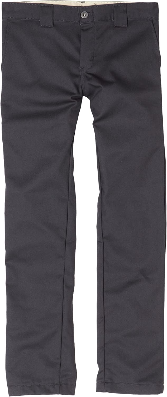 Dickies Boys' Skinny Straight Pant: Khaki Pants For Boys: Clothing