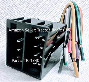 Semi Truck Stereo Wiring Harness Radio CD Player in Dash Freightliner Plug Play International Peterbilt Volvo Freightliner Sterling Mack Kenworth