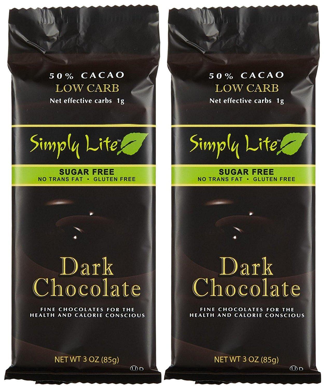 Simply Lite Low Carb Dark Chocolate Sugar-Free