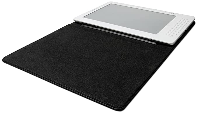 Amazon Kindle DX Black Leather Cover (Fits 9 7