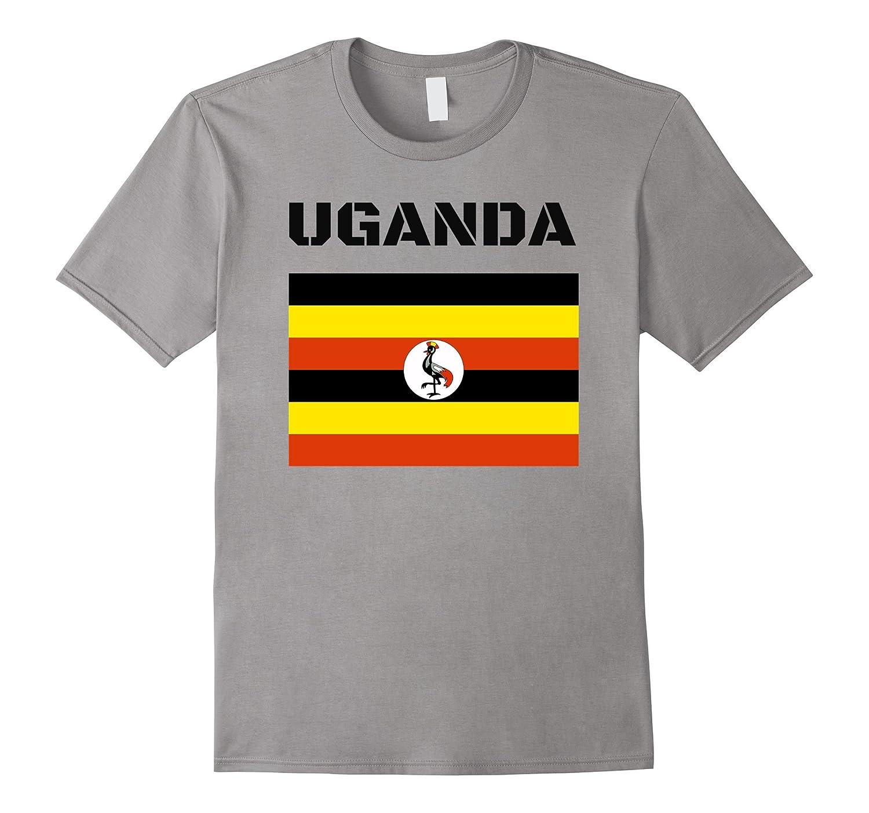 Uganda Flag Gift Pride T-Shirt-Vaci