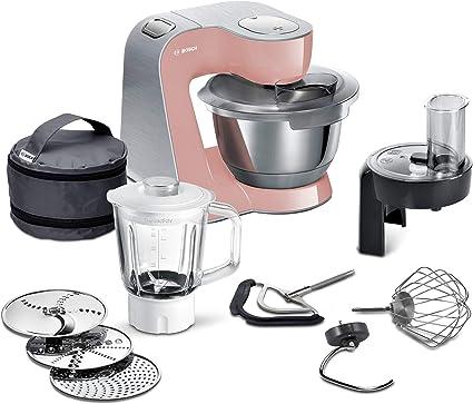 Bosch Creation Line Premium - Robot de cocina Rosè/Plata.: Amazon ...
