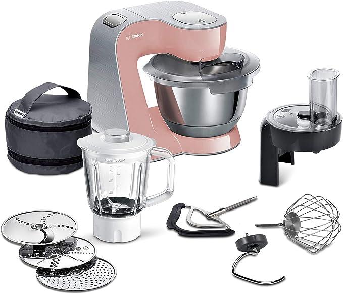 Bosch Creation Line Premium - Robot de cocina Rosè/Plata.: Amazon.es: Hogar
