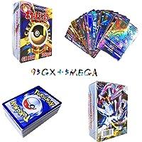 Sinwind 100 Piezas Pokemon Cartas, Tarjetas de Pokemon