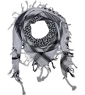 7eb09159299c PURECITY©® Keffieh Shemagh Foulard Palestinien 100% Coton - 110 cm x ...
