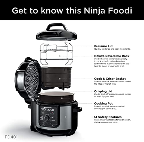Ninja foodi 8 qt reviews: best pressure cooker guide