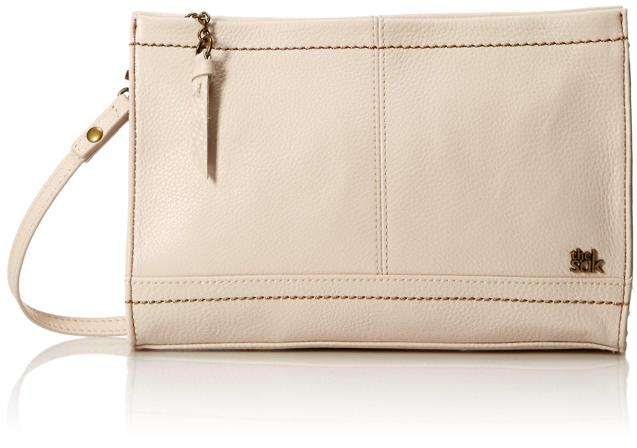 The SAK Iris Demi Clutch Handbag,Stone,One Size