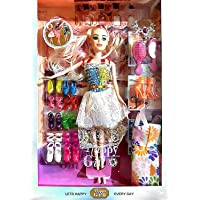 SUPER TOY Girl Doll with Accessories Toy Set for Girl