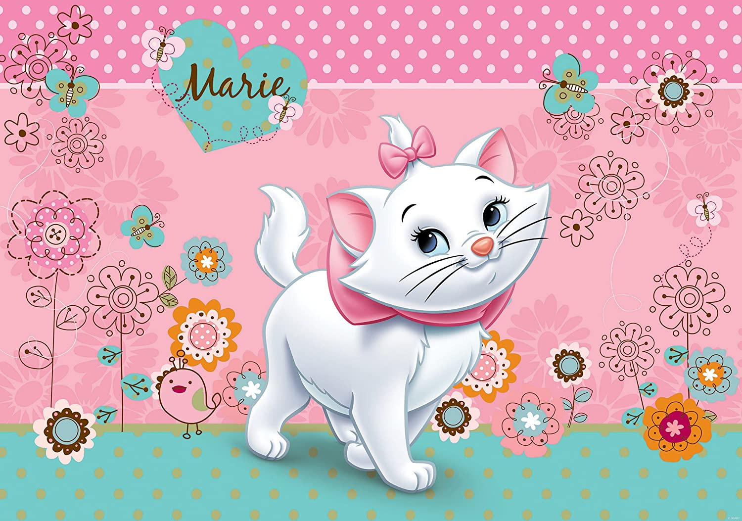 Amazon Disney Aristocats Marie壁紙壁画 X Large 254x184 Cm Wxh 801p4 壁紙