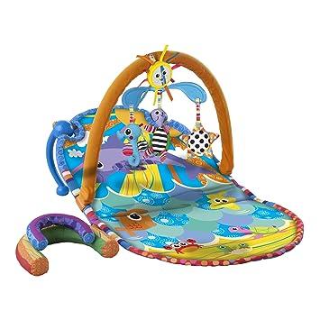 Spiel-Matte Erlebnisdecke Baby 3in1 Krabbeldecke Spieldecke mit Spielbogen und Spielzeug Activity Gym Baby Gym Matte f/ür Baby WYSPA
