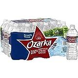 Ozarka Brand 100% Natural Spring Water Plastic Bottles, 16.9 oz (24 Pack)