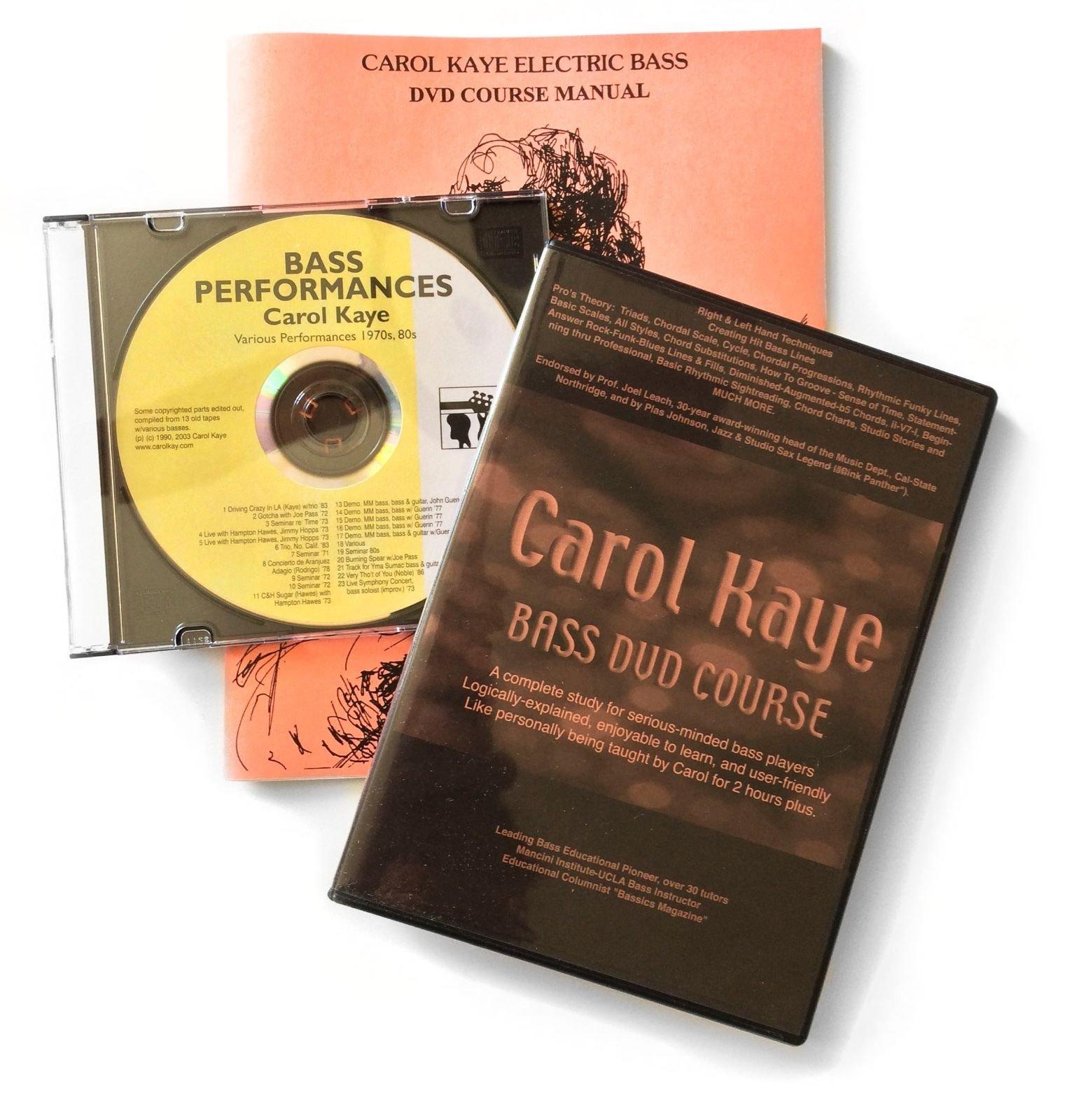 Carol Kaye Bass DVD Course