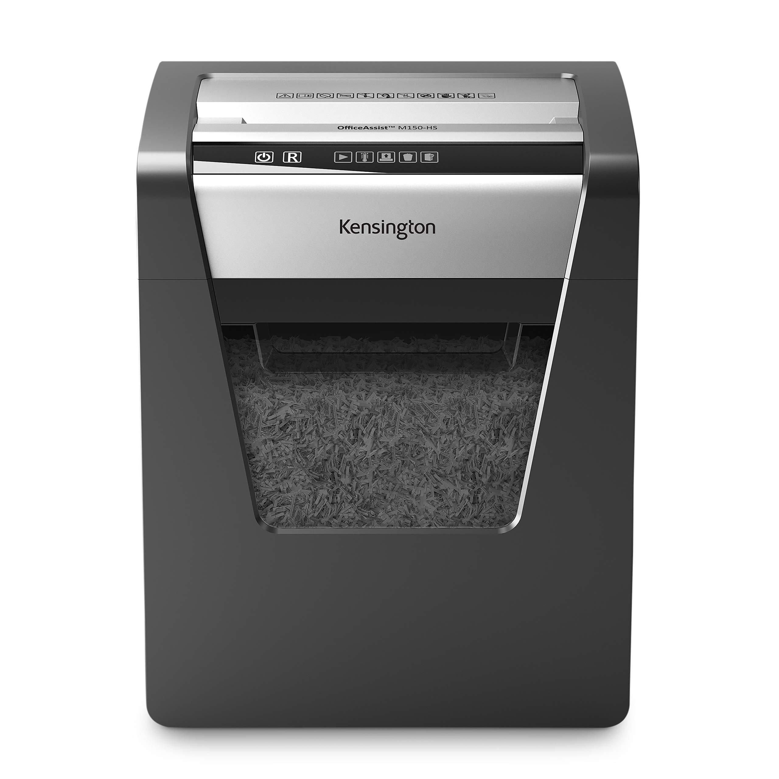 Kensington Micro Cut Shredder - Office Assist M150-Hs Anti-Jam (K52077AM) by Kensington