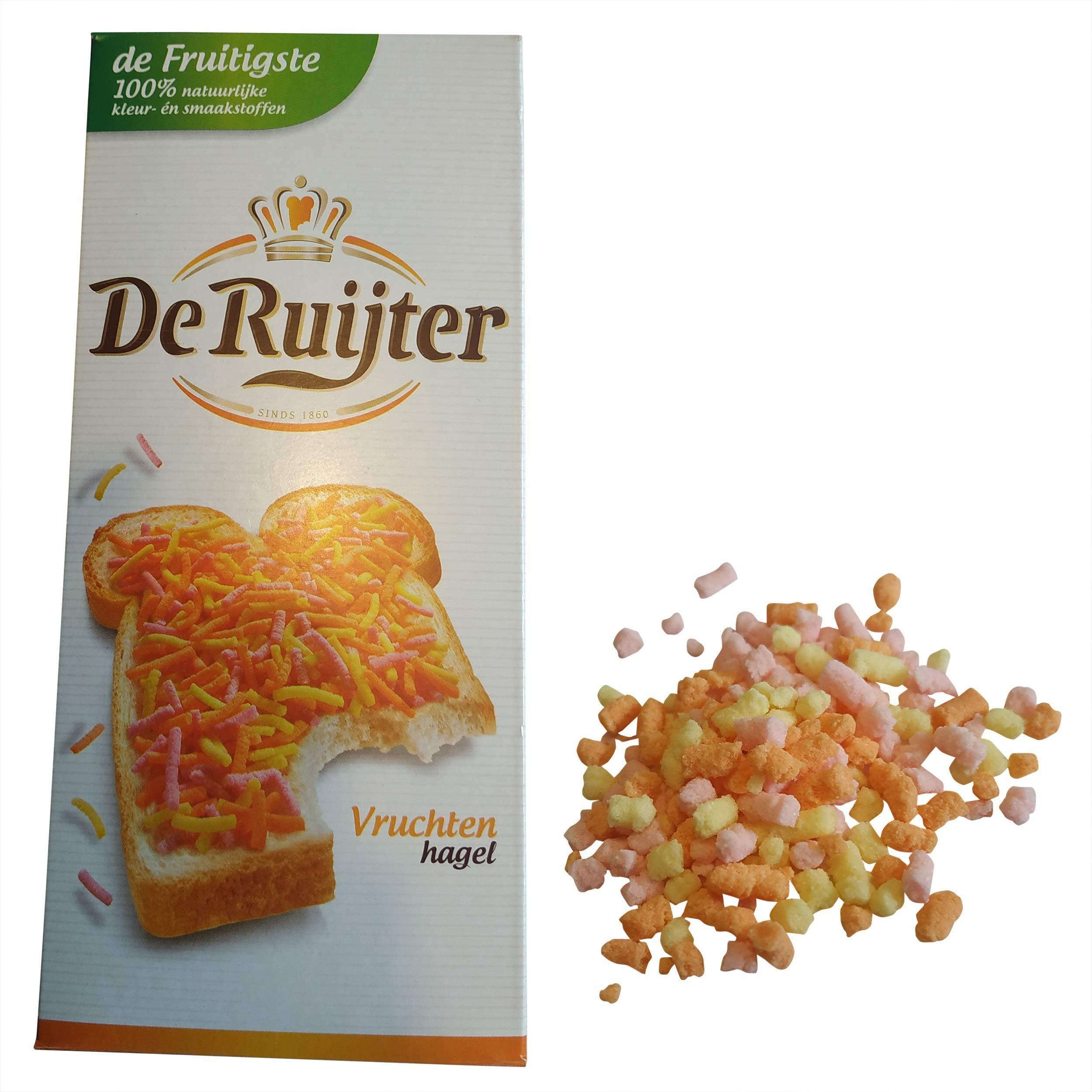 De Ruijter Fruit Sprinkles / Vruchtenhagel Fruit, 400g
