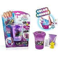 SO SLIME Canal Toys 032-LOISIRS CREATIFS ASST Slime Shaker-Glow in The Dark/Color Change, SSC 032, Bleu, Rose