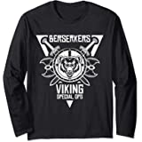 Berserker Viking Special Forces Retro Vintage Mens Long Sleeve T Shirt