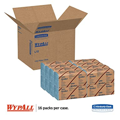 WypAll 05120 L10 Windshield Wipers, Banded, 2-Ply, 9 3/10 x 10 1/4, 140 per Pack (Case of 16 Packs): Science Lab Disposable Wipes: Amazon.com: Industrial & ...