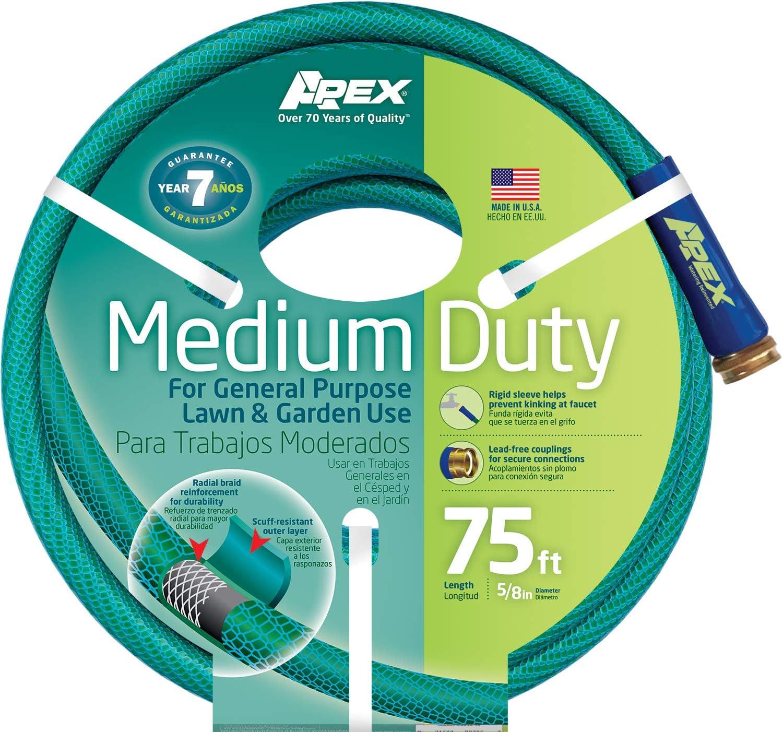 Apex, 8535-75 Medium Duty Garden Hose, 5/8-Inch by 75 Feet