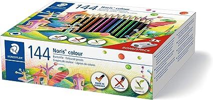 Staedtler Noris 185 C144. Lápices de colores ecológicos. Caja con ...