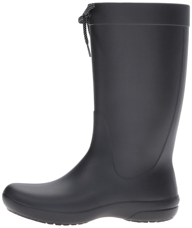 Crocs Freesail Rainboot B01A6LPQ56 5 M US|Black
