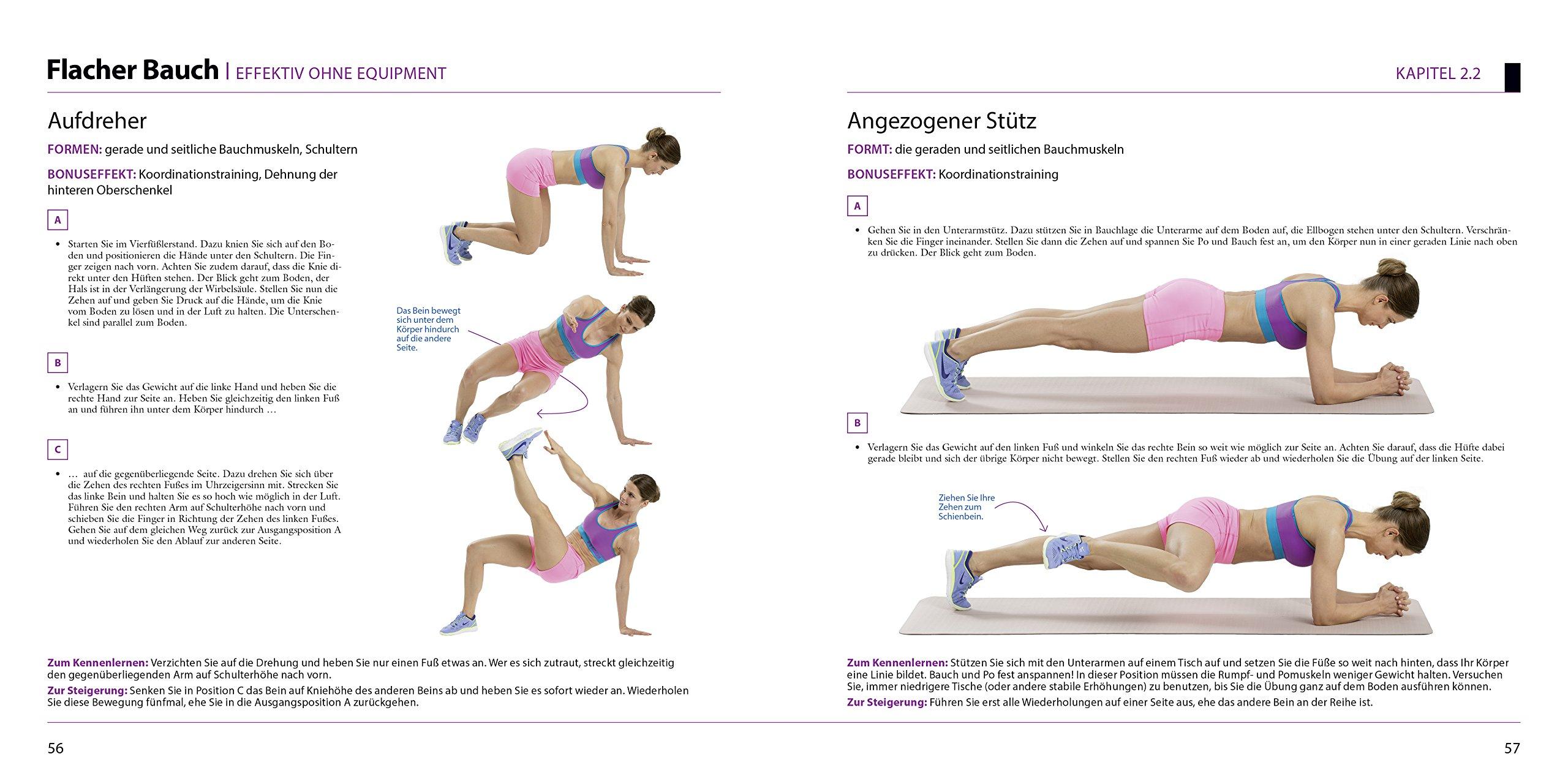 Atemberaubend Das Women's Health Bauch-Beine-Po-Buch: Die Perfect-Body-Garantie &RU_25