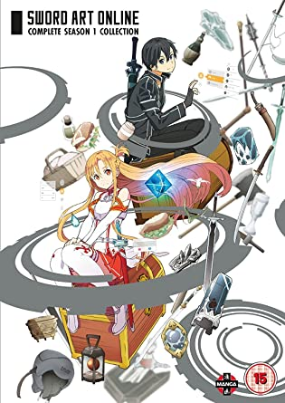 Sword Art Online Complete Season 1 Collection Episodes 1-25 DVD
