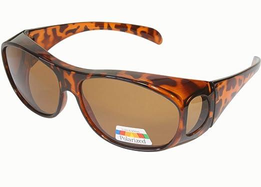 Amazon.com: Polarizadas Fit Over – Gafas de sol, Color ...