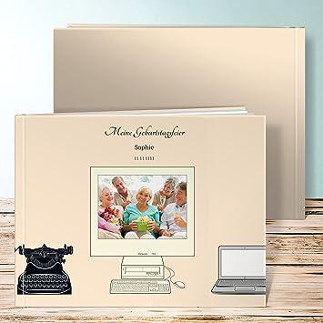 Amazon.de: Fotobuch 60 Geburtstag, Damals Und Heute Foto 88 Seiten,  Hardcover 290x222 Mm