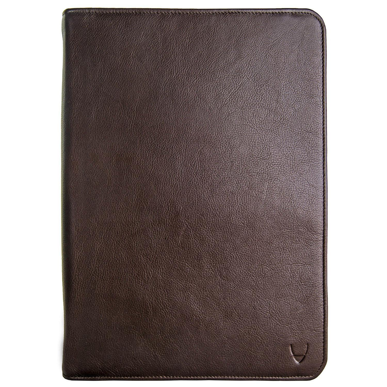 HIDESIGN IMG iPad Leather Portfolio/Padfolio, Brown