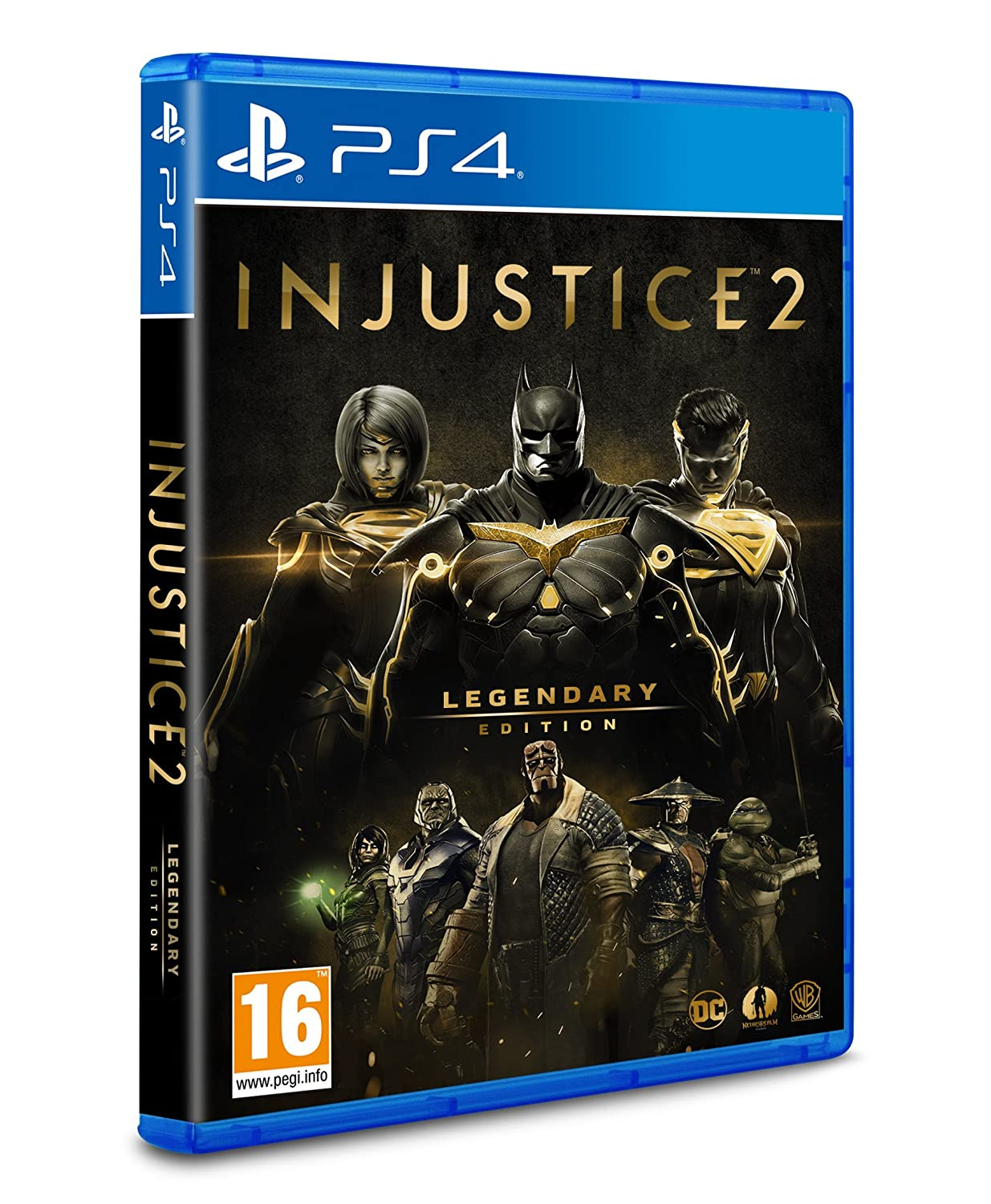 Injustice 2 - Legendary Edition - PS4 [Importación italiana ...