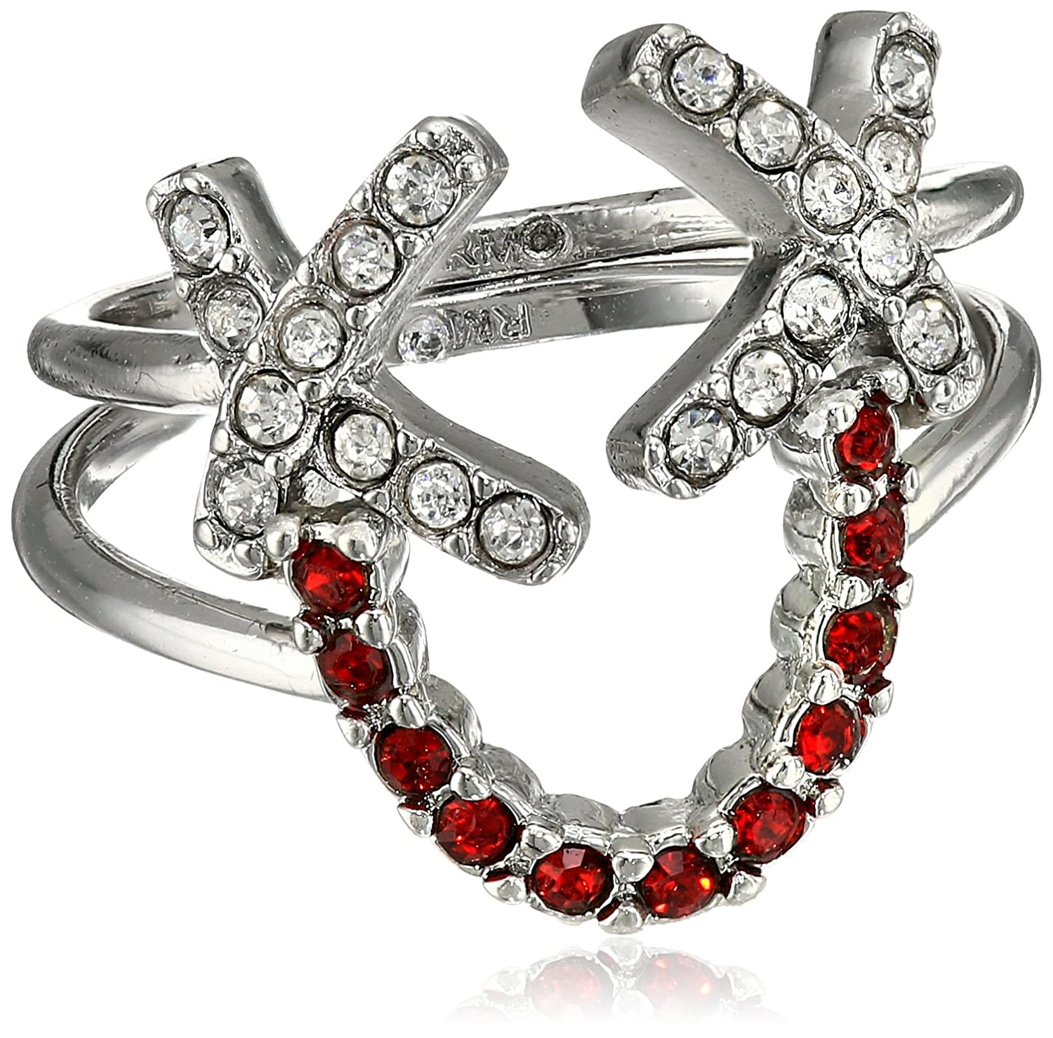 Rebecca Minkoff Smile Face Stackable Ring, Size 7 Rebecca Minkoff Jewelry 065584IR986