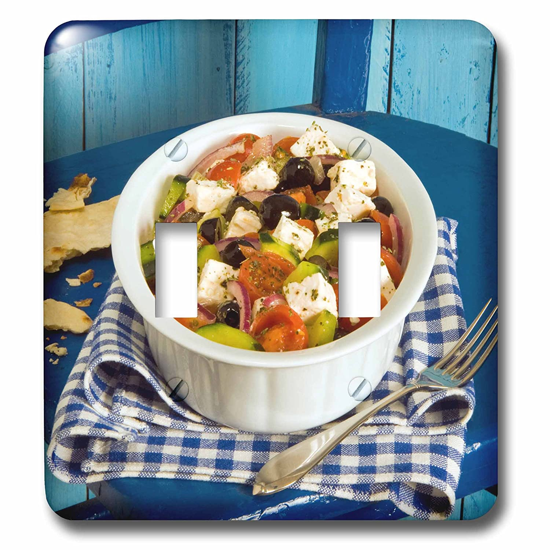 3dRose lsp/_277454/_2 Greek Salad Toggle Switch Multicolor