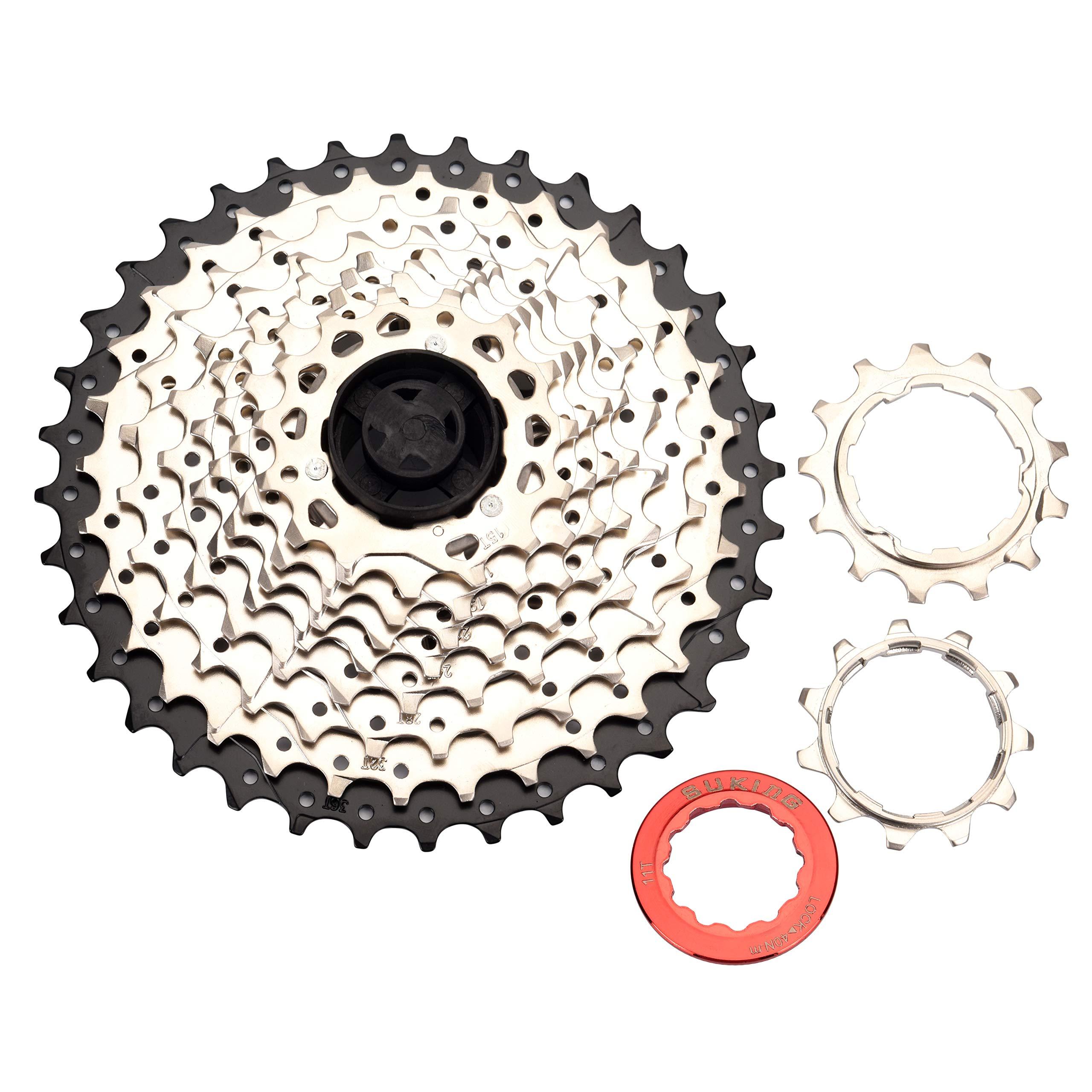 BESNIN Bike Cassette & Freewheels 10S 11-36T
