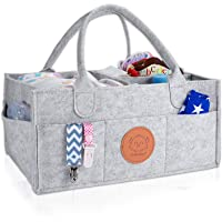 KeaBabies Baby Diaper Caddy Organizer - Large Baby Organizers And Storage For Nursery - Portable Diaper Basket For…