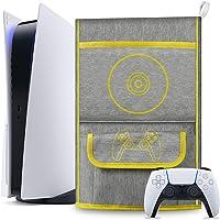 حافظة واقية من الغبار لجهاز بلاي ستيشن 5 / الإصدار الرقمي لجهاز بلاي ستيشن 5، حافظة سفر لأجهزة تحكم PS5 متوافقة مع 12…