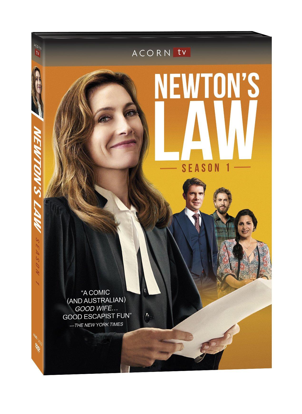 DVD : Newton's Law: Season 1 (DVD)