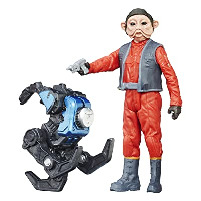 Star Wars: The Force Awakens 3.75 inch Snow Mission Nien Nunb: Toys & Games