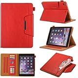 Ostop Compatible with iPad Pro 9.7 (2016)/iPad 9.7 (2017/2018) Case,Premium PU Leather Stand Folio Case Slim Wallet…