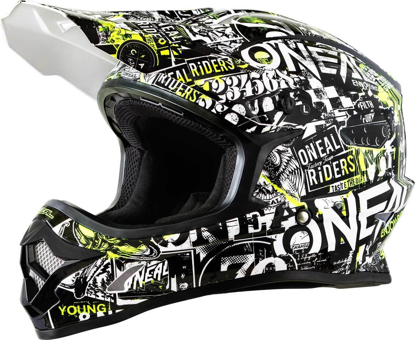 O'Neal Oneal 3  Series Attack Youth Casco Motocross
