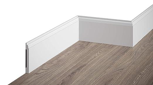 Häufig MARDOM DECOR Sockelleiste I MD258 I moderne Fußbodenleiste CC26